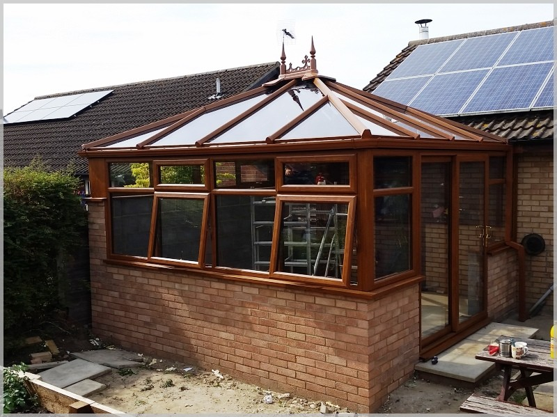 New Conservatory windows, doors and antisun roof