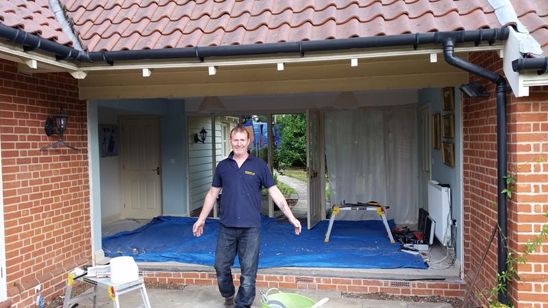 New entrance to Bungalow Halesworth